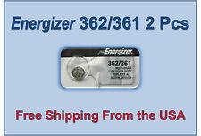 2 Energizer 362 361 SR721SW AG11 LR721 V362 V361 D362 D361 SP361 SP362 Battery