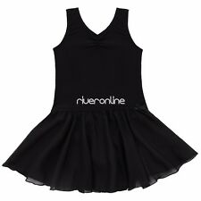 Kid Girl Leotard Dress Ballet/Dance/Gymnastic Tutu Skirt Dancewear Costume 2-14Y