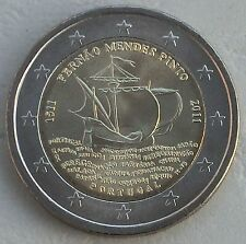 "2 euro Portugal 2011 ""mendes pinto"" unz"