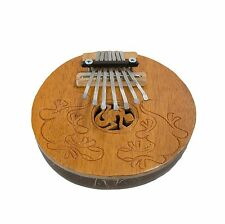 Gecko Carving Coconut Mbira Kalimba Thumb Piano