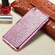 Bling Glitter Luxury Phone Cover Soft TPU Back Case For Samsung Galaxy/LG/Huawei