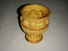 "PARMA BY AAI VINTAGE 5.50"" OPEN URN A-166 YELLOW GOLD GREEK STYLE WHEELS JAPAN"