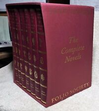 FOLIO SOCIETY-Jane Austen-THE NOVELS-With Slipcase-EXCELLENT