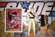 Storm Shadow Vintage 1984 Hasbro GI JOE Lot W/Figure, Case, Card & Accessories A