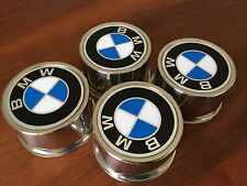 4x Original BMW Nabendeckel Center caps Felgendeckel Kappen E12 E23 E24 E28 7x14