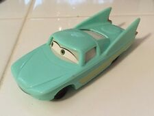 ☀️ Disney Pixar Movie CARS FLO Blue Buick Custom Car Toy Figure Cake Topper McDs
