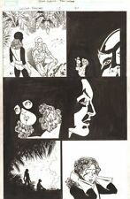 Wolverine: First Class #12 p.21 Professor X & Kitty Pryde 2009 by Scott Koblish