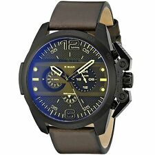 Diesel Ironside Brown Leather 48x55mm Men's Watch DZ4364