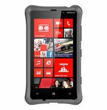 Ballistic LS0922-M145 LS Smooth Series Case for Nokia Lumia 820 - Charcoal Gray