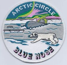 Blue Nose Arctic Circle BC Patch Cat No C6104