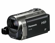 Panasonic HC-V10 HD 720p Camcorder - 70x Zoom, Power OIS, SD Card Recording