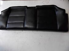 BMW E36 Rear Seat Bottom Black Leather Coupe Fold Down 92-99 318 323 325 328 M3