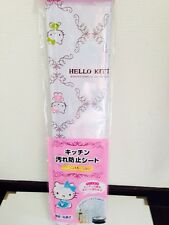 SANRIO Hello Kitty Kitchen Wall Sheet Oil Dirt Prevention Adhesion Type