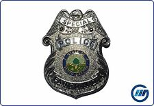 Stati Uniti: DISTINTIVI BADGE DISTINTIVO IN METALLO SPECIAL POLICE Fargo N.D. (REPLIK) #14