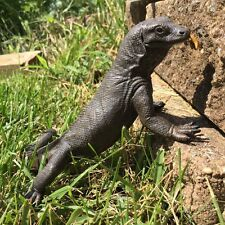 Realistic Indonesian Komodo Dragon Quality Poly Figurine Hand Painted S268829