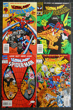 LETHAL FOES OF SPIDERMAN 1993 #1 TO 4 COMP. NM SET VILLAINS GALORE!