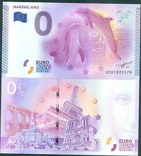 MARINELANDE 2015 EPUISEE BILLET SOUVENIR ZERO 0 EURO  ETAT NEUF