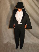 Gone with the wind Rett Butler Black victorian Tuxedo complete for ken dolls