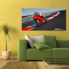 DUCATI 1199 PANIGALE S SPORT BIKE MOTORCYCLE LARGE HD POSTER 24x48in