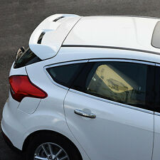 White Painted Rear Spoiler Trunk Wing Protection Spoiler For Ford Focus 2015-16