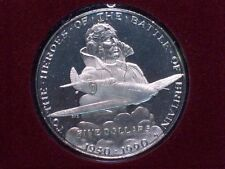 1990 Marshall Islands Heroes of the Battle of Britain Five Dollar Proof!