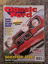 Classic Ford mag sept 1998 early rare escort capri cosworth rs2000 supersport