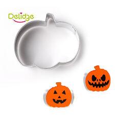 Calabaza Bizcocho Masita Pastelería De Acero Inoxidable Molde de Pastel de Fondant Halloween