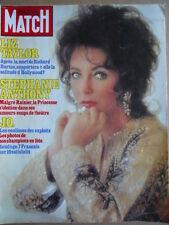 PARIS MATCH n°1839 1984 Liz Taylor - Stephanie de Monaco    [C71]
