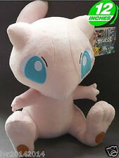 "Plush New Pokemon MEW STUFFED TOY Doll Figure Gift 12""high aaa"