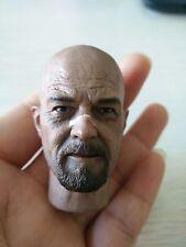 """1/6 Scale Breaking Bad Walter White Head Sculpt Model For 12"""" HT Body Figure"""