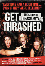 Get Thrashed, New DVD, Steven Blush, Jason Bitner, Chuck Billy, Richard Bienstoc