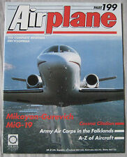 Airplane Issue 199 Mikoyan-Gurevich MiG-19 Cutaway & Poster, Cessna Citation