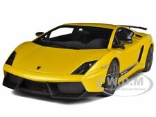 LAMBORGHINI GALLARDO LP570-4 SUPERLEGGERA MET.YELLOW 1/18 AUTOART 74658