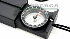 Suunto MB-6 Mirror Sighting Compass Black Camping Pocket Compass Finnish Made