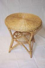 Rattan Tisch neu Farbe honig