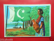 figurines cromos cards figurine sidam gli stati del mondo 65 pakistan flags flag