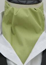 Plain Red Cravat 100% Cotton Ascot Cravat & Handkerchief-More Colours Avalible