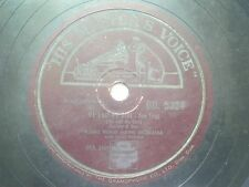 """THE NOVELTY PLAYERS MR 20185 INDIA INDIAN RARE 78 RPM RECORD 10"""" PLUM VG-"""