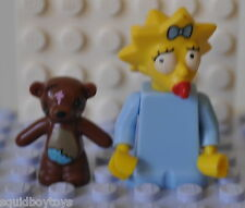 MAGGIE SIMPSON (The Simpsons) Lego Series 1 MiniFig / Minifigure