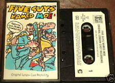 FIVE GUYS NAMED MOE ORIGINAL LONDON CAST CASSETTE