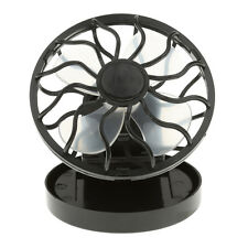 Portable Solar Cell Fan Outdoor Camping Fishing Air Conditioner Mini Fan