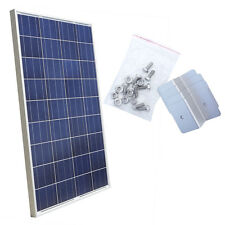 100Watt Solar Panel 100W 12V Solar Module With 1 Set (4pcs) Z Style Mounting Kit