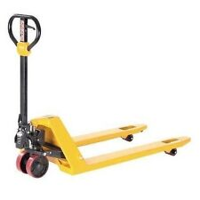 "Industrial Pallet Jack - 27"" x 48"" - 5,500 lb Capacity - Commercial Duty - Steel"