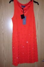 BNWT��Next Premium��Size 10 T Collection Tailored Shift Dress Rust Orange £175