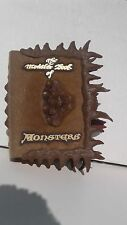 Rare Harry Potter The Monster Book of Monsters Safe Box Works Tomy U.S. seller