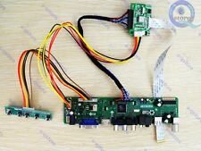 HDMI/AV/VGA/TV/USB LCD Lvds Controller Board Converter Kit for eDP LTN140AT05