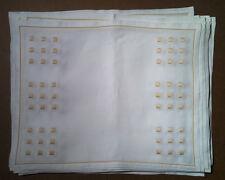 Noel (Paris) - Set Of 16 Placemats - Carres Magiques - 100% Linen