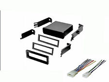 Toyota Universal Radio Stereo Install Mount Pocket Install Dash Kit Wire Harness