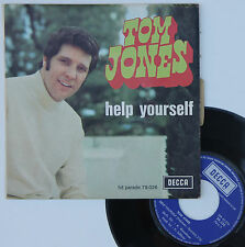 "Vinyle 45T Tom Jones ""Help yourself"""