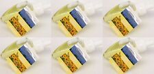 6 Refills Bath & Body Works Wallflowers LEMON VERBENA Home Fragrance Bulb Refill